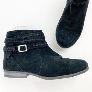 Minnetonka 569 Dixon Boot Suede Fringe Boho T305